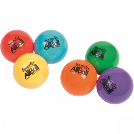 Set of 6 Colored All Balls