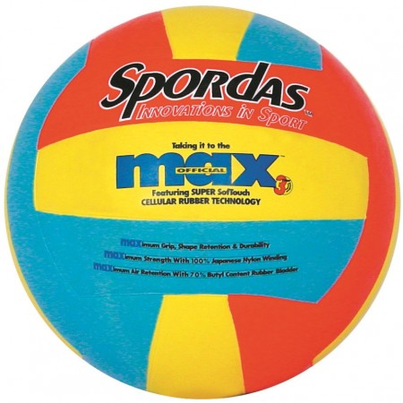 Spordas Max Super Soft Touch Volleyball Size 5
