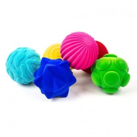 Set of 6 Rubbabu Tactile Balls