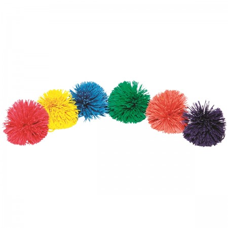 Set of 6 Pom Pom Balls
