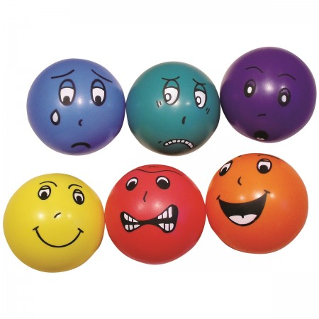 Emotional Faces 20cm - Set of 6