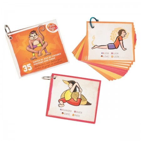 PedaYoga Mini Cards Poses and Emotions