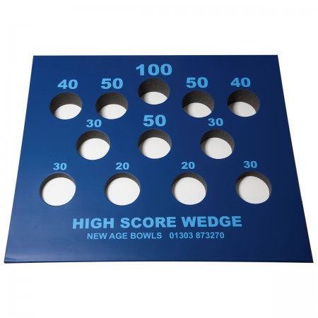 Bowls High Score Wedge