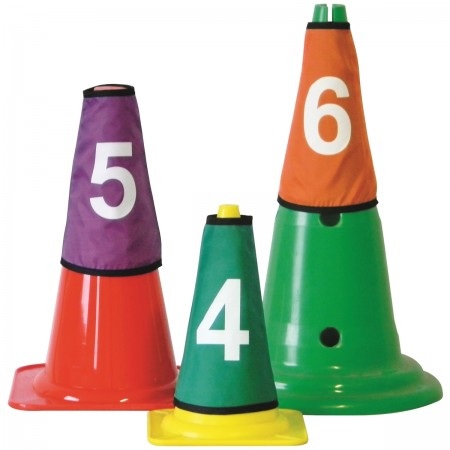 Set of 10 Cone Covers