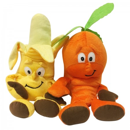 Mr. Veggie & Mr. Fruity