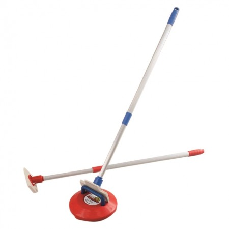 Pair of Curling-Pushers with Handles