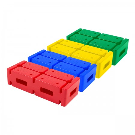 Set of 4 Multipurpose Bricks