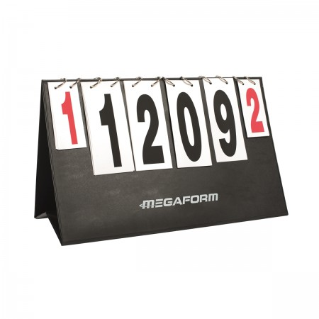 Foldable table scoreboard