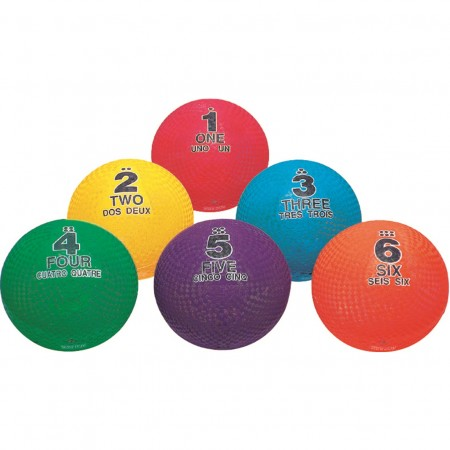 Set of 6 Utility Sequencing Balls