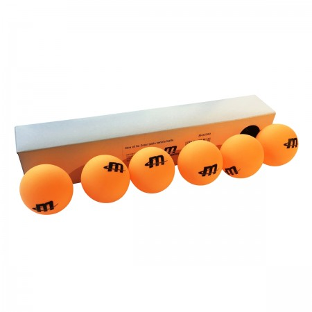 Box of 6 Table Tennis Balls 2*