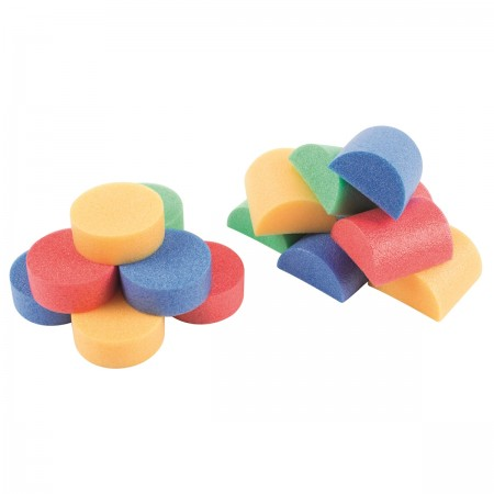 Foam Noodle Bits and Slices - Pack of 200