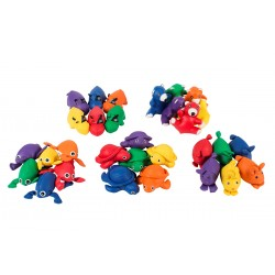 Set of 6 Bean Bag Animals