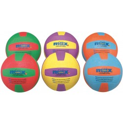 Spordas Max Volleyballs Set of 6 colors