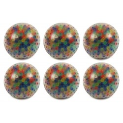 Set of 6 Water Bead Squeeze Balls