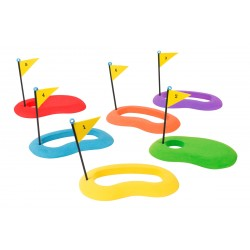 Set of 6 Golf Putting Targets