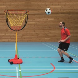 Foot-Basket Game Goal