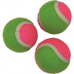 Set of 3 Loop Tennis Balls