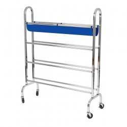 Ball Rack With Wheels
