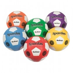 Set of 6 Spordas Dur-O-Sport Footballs