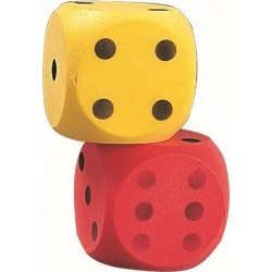 Giant Foam Dice Pair