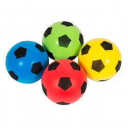 Set of 4 Softy Foam Footballs