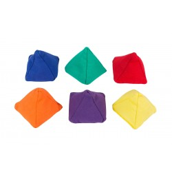 Set of 6 Pyramid Beanbags