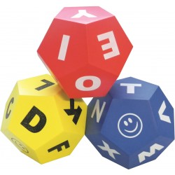 Set of 3 Educational Dice