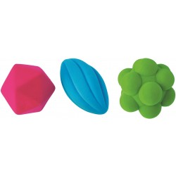 Set of 3 Rubbabu Reaction Balls