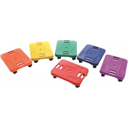 Ergonomic Scooters - 33x43cm Set of 6