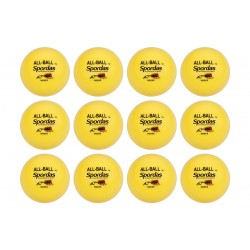 Set of 12 Yellow All Balls