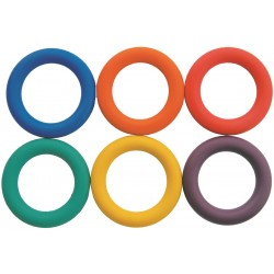 Deck Tennis Rings, set of 6
