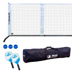 Portable and Adjustable Pickleball Tennis Net Set