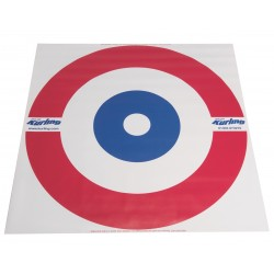 Curling House Target