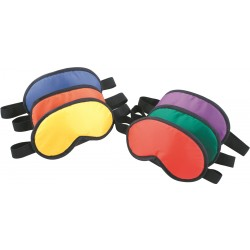 Set of 6 Colored Blindfolds