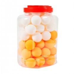 Bucket with 60 Table Tennis Balls