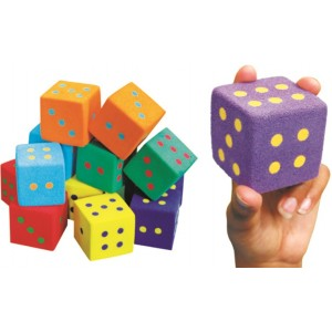 UltraFoam Dice Set of 12