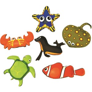 Set of 6 Dive Animals