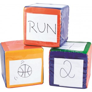 Set of 3 Move Cubes 16cm