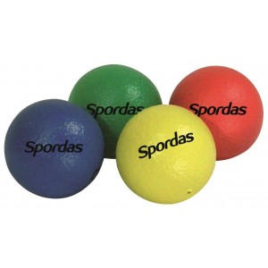 Skin-Coated Foam Balls 70mm set of 4 colors