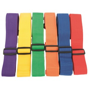 Set of 6 Adjustable Belts