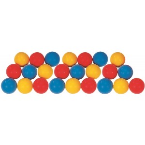 Set of 24 Softy Foam Balls 7cm