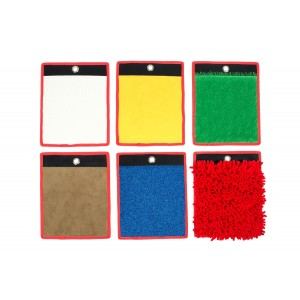 Set of 6 Tactile Mini Mats