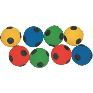 Hook and Loop Balls - set of 8