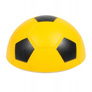 Indoor soft gliding foam half football