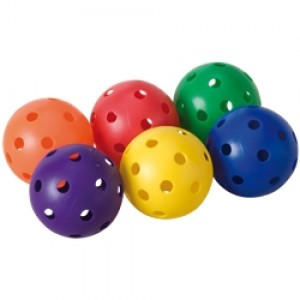 Scoop Set of 6 colored balls
