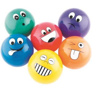 Emotional balls 10cm - Set of 6