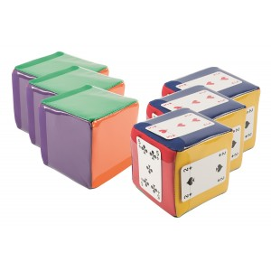 Mini Move Cubes 10cm - Set of 6
