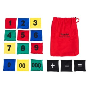 Numbered Bean Bags Set