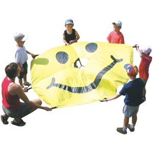 Smiley Parachute