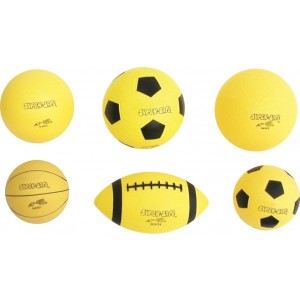 Set of 6 SuperSafe Sport Balls